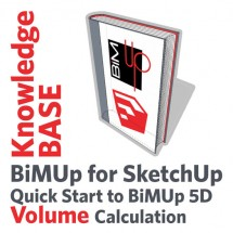 BiMUp 5D - Quick Start - Volume Calculation