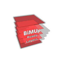 BiMUp Ready Template - SketchUp Layers